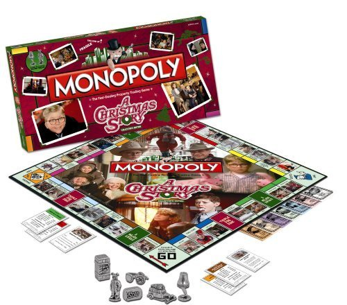 Christmas Story Monopoly Game (Monopoly: A Christmas Story Collector's Edition by Monopoly)