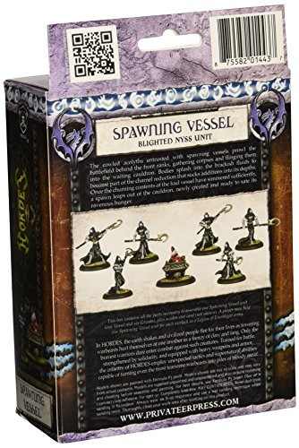 Privateer Press Privateer Press - Hordes - Legion: Spawning Spawning Spawning Vessel Model Kit 173a56