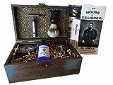Vintage Shave Kit Groomsmen Gift Vintage Rustic Wedding (Cardinham)