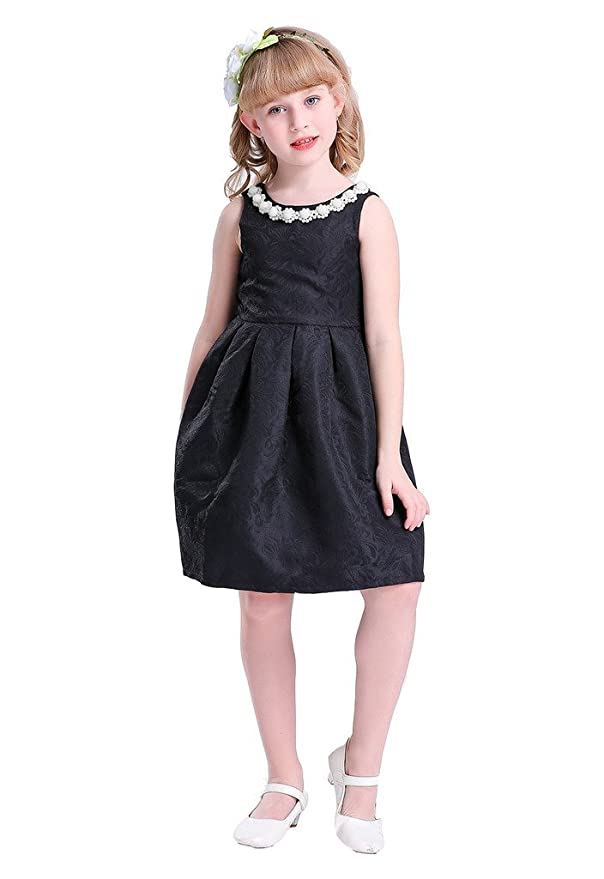 60s 70s Kids Costumes & Clothing Girls & Boys Happy Rose Vintage for Special Occasion Sleeeveless Girls Dress $25.99 AT vintagedancer.com
