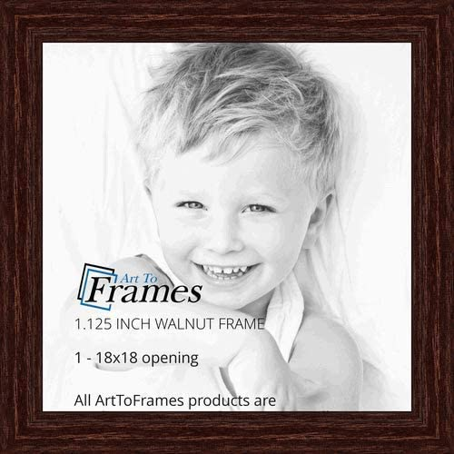 Your PHOTO//PICTURE onto 18X18IN PERSONALISED print LARGE FRAME-BLACK-OAK-WALNUT