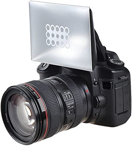 eForCity Camera Flash Diffuser Compatible with Canon Nikon Pentax