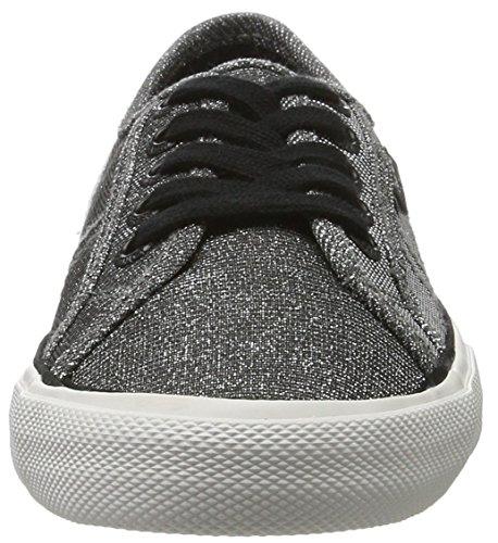 Pepe Jeans Damen Sneaker Notte Aberlady Silber (cromo)