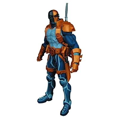 DC Collectibles Super-Villains Comics: Deathstroke Action Figure: Toys & Games
