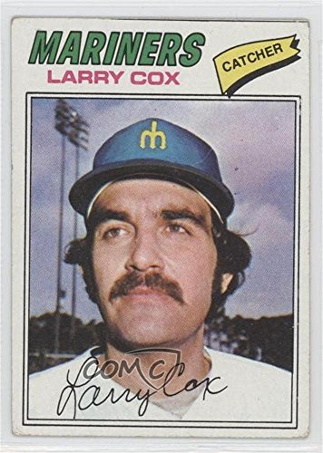 Larry Cox COMC REVIEWED Good to VG-EX (Baseball Card) 1977 Topps #379