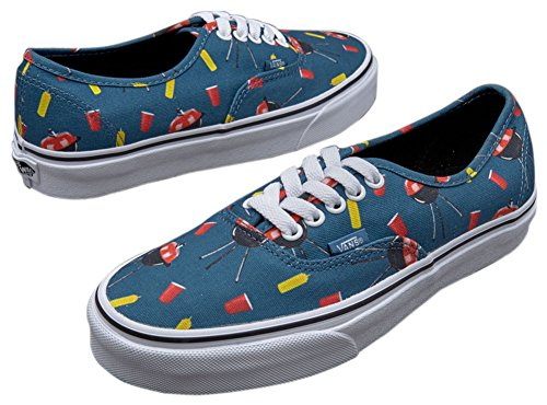 Vibes Blue Vans Pool Authentic Ashes xwqTACU0