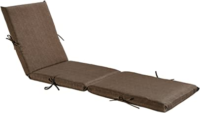 Bossima Indoor/Outdoor Chaise Lounge Cushion