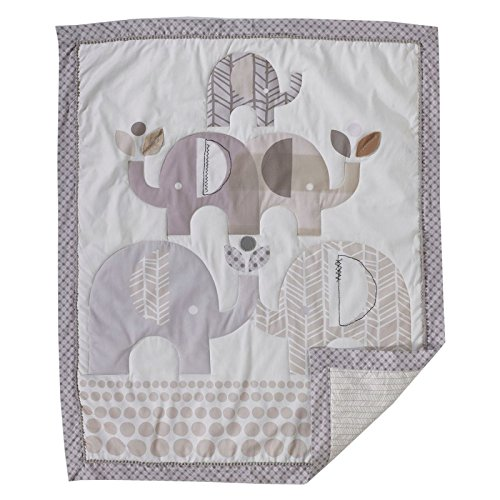 Quilted Baby Quilt - Lolli Living Naturi Baby / Toddler Quilt