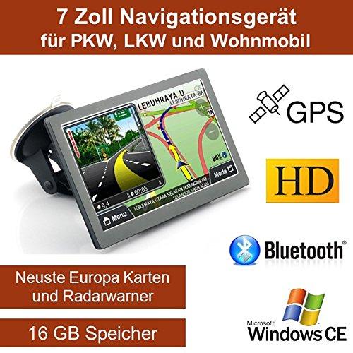 17.78 cm pulgadas 12 GB automóviles, camiones, caravanas, navegador GPS, navegador,