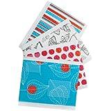 Scotch Decorative Plastic Bubble Mailer Assorted Designs Size 0 6 x 9.25 Inches, 12-Pack (8913-DS)