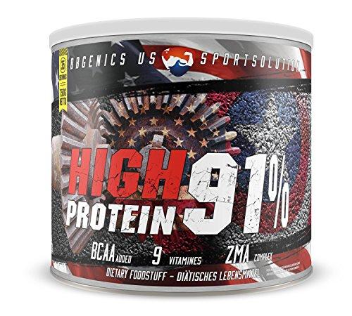 Premium Eiweißpulver by BBGENICS - High Protein 91% - (Whey & Casein) 750g Schoko