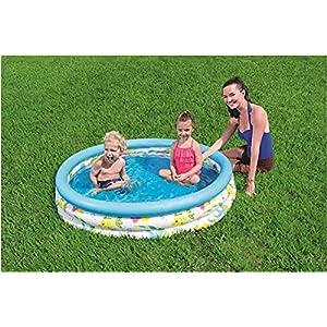 Waech Bestway 51009 Bestway 51009-122 x 25 cm – Piscia/piscina hinchable redonda