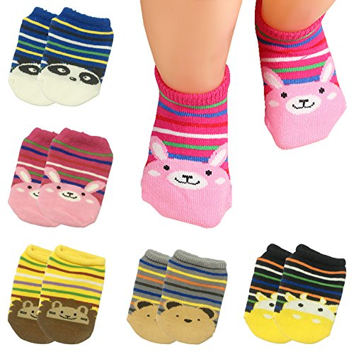 Pairs Ankle Toddler Cartoon No show