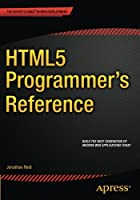 HTML5 Programmer's Reference Front Cover