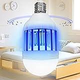 Cheng Yu 2017 Mosquito Killer Lamp Bulb, Fly Killer Indoor Bug Zapper 110V E26/E27 Light Bulb Socket Base for Home Indoor Outdoor Garden Patio Backyard