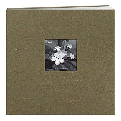 Postbound Fabric Frame Scrapbook Album - 5
