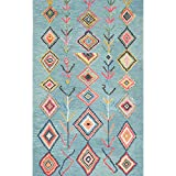 nuLOOM Belini Hand Tufted Wool Accent Rug, 2' x