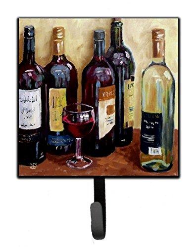 Caroline's Treasures SDSM0118SH4 Wine by David Smith Leash or Key Holder, 7Hx4.25W, Multicolor