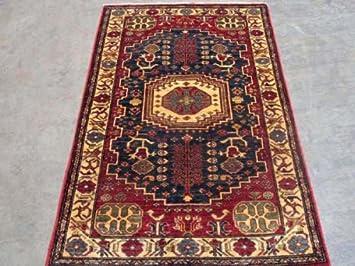 Teppich Cazak Aus Pakistan Rechteck 159 X 99 Cm Amazon De Kuche