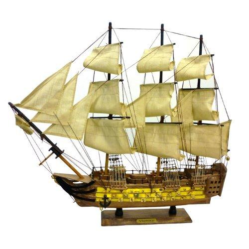 木製帆船模型 ヴィクトリー号 60センチ 完成品 ファーストアロー B00965JSOY