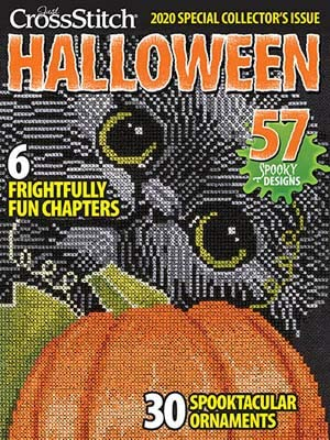Just Cross Stitch Halloween 2020 Free Amazon.com: Just Cross Stitch Halloween 2020 Magazine with Free