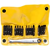 Chapman MFG 1316X All Purpose Soft Pack Ratchet Screwdriver Set - Includes Midget Ratchet, Std. Allen Hex Bits, Slotted Bits, and Phillips Bits All Made in The USA