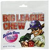 Big League Chew Bubble Gum Outta Here Original 12-2.12oz Packages