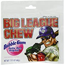Big League Chew Bubble Gum Outta Here Original 12-2.12oz Packages