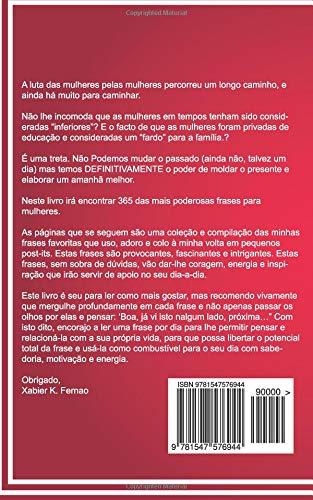 365 Frases Para Mulheres Amazones Xabier K Fernao Rita