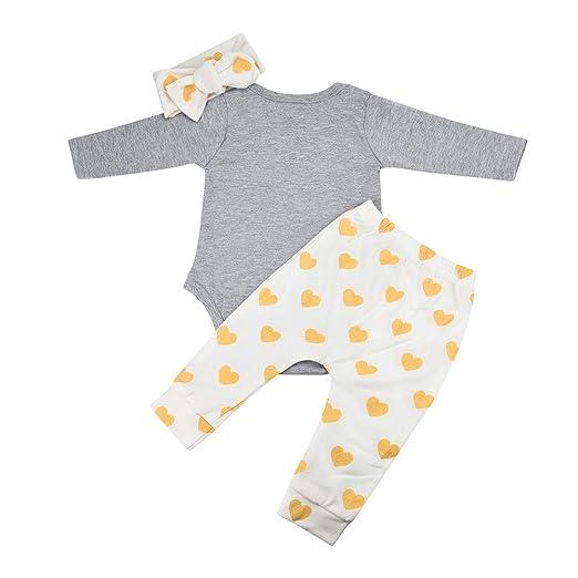 528de5874ac3 Amazon.com  MILIMIEYIK Baby Sets for Girls 1Set Newborn Boys Deer ...