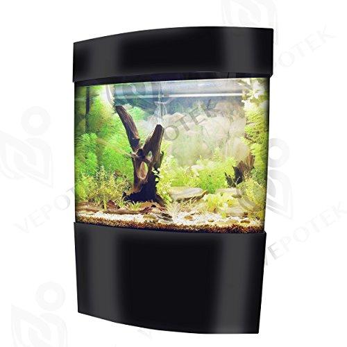 Aquarium Tank Size: 60'' H x 40'' W x 14'' D by Vepotek