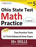 Ohio State Test Prep: 5th Grade Math Practice Workbook and Full-length Online Assessments: OST Study Guide