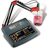 Hanna Instruments HI 2211 Basic pH/ORP Benchtop Meter, For Quality Control Applications