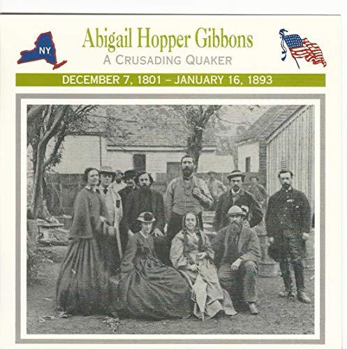 1995 Atlas, Civil War Cards, 39.16 Abigail Hopper Gibbons, -