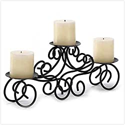 Candelabra Candle Stand Large Candleholder Black Wedding Centerpiece