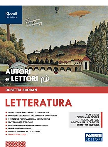 Amazon It Autori E Lettori Più Letteratura Per La Scuola Media Con Ebook Con Espansione Online Zordan Rosetta Libri