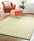 Mohawk Home Soho Twisted Rope Area Rug, 5′ x 7′, Green