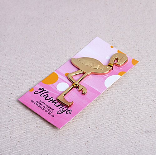 60pcs ''Fancy and Feathered'' Flamingo Bottle Opener For Wedding Party Favor Gift