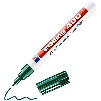 edding 400 permanente markeerstiften, groen, 1 stift, fijne ronde punt 1 mm, sneldrogend, waterdicht en slijtvast, voor…