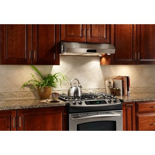 QP336SS 36'', Under Cabinet Range Hood - Stainless Steel, 450 CFM by Air Flow (Image #1)