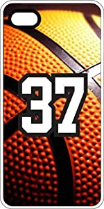 Basketball Sports Fan Player Number 35 White Plastic Decorative iphone 6 4.7 Case