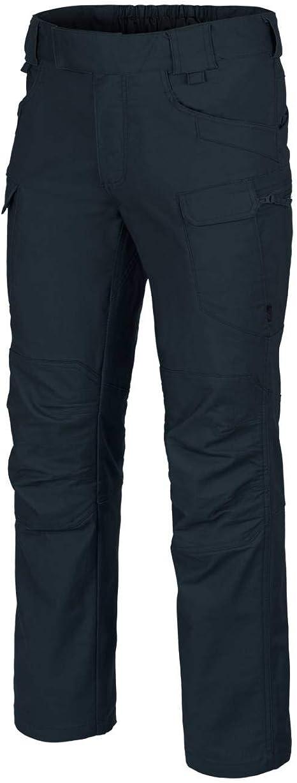 Helikon Hombre UTP Pantalones Algodon poli Canvas Navy Blue tamaño XL Long