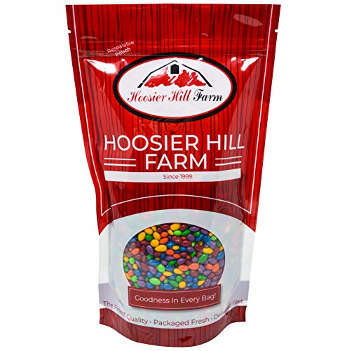 Hoosier Hill Farm Chocolate Covered & Candy Coated Sunflower Seeds, 1.5 Pound (Candy Seeds Sunflower)