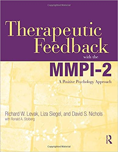 Amazon therapeutic feedback with the mmpi 2 a positive therapeutic feedback with the mmpi 2 a positive psychology approach 1st edition fandeluxe Image collections