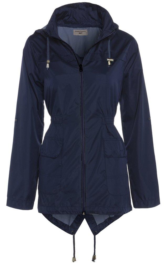 SS7 Women's Raincoat, Navy, Sizes 8 to 16 SS7 Women' s Raincoat