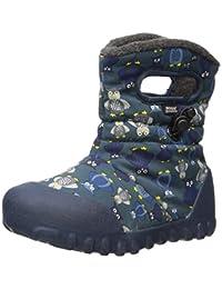 Bogs Kids' B-Moc Puff Owl Winter Snow Boot