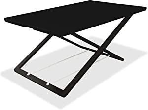 Lorell LLR99855 Slim Adjust Desk Riser, Black