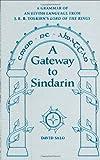 A Gateway to Sindarin, David Salo, 0874808006