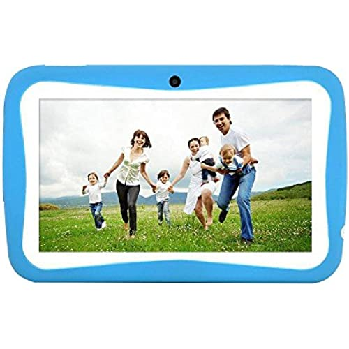 KOBWA M755 Kid Tablet, HD Education Tablet Toy for Toddlers Kids Children 7inch Cortex A9 Quad Core 8GB ROM Wifi Coupons