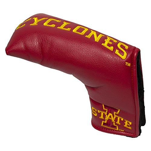 (Team Golf NCAA Iowa State Cyclones Golf Club Vintage Blade Putter Headcover, Form Fitting Design, Fits Scotty Cameron, Taylormade, Odyssey, Titleist, Ping, Callaway)